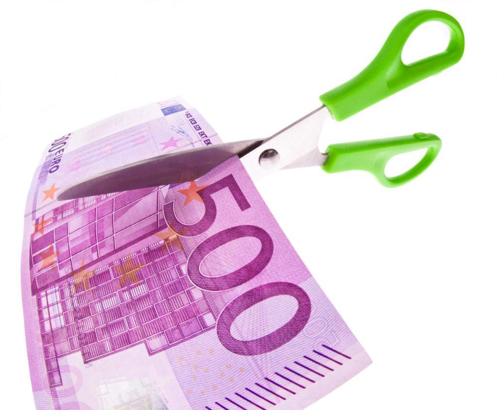 Bancnotă de 500 de euro.