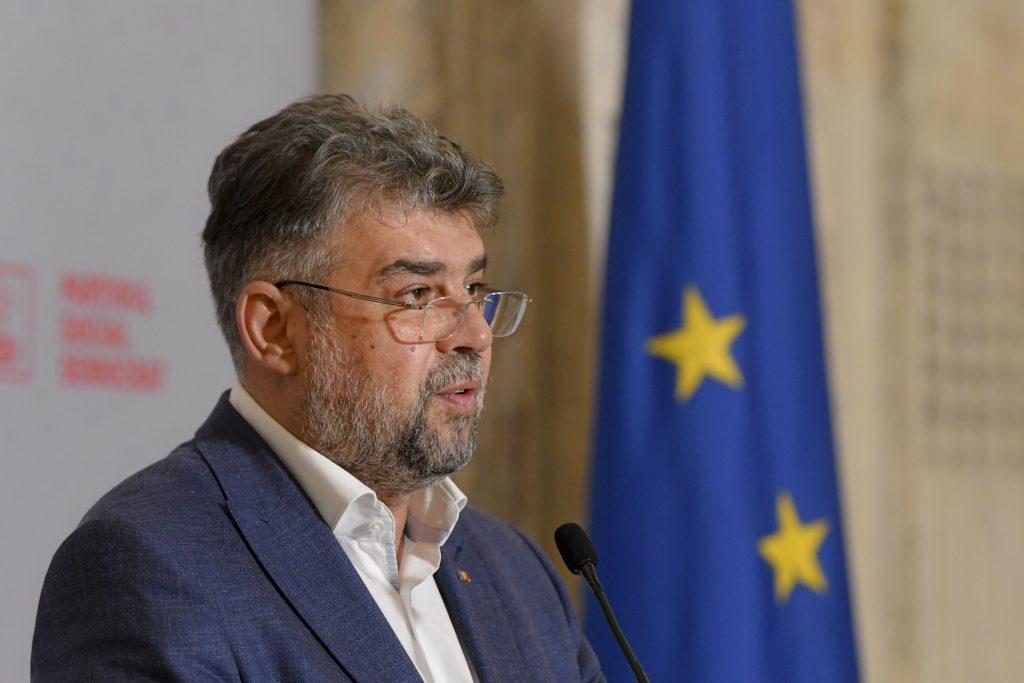 Președintele PSD, Marcel Ciolacu, acuză dreapta politică de iresponsabilitate.