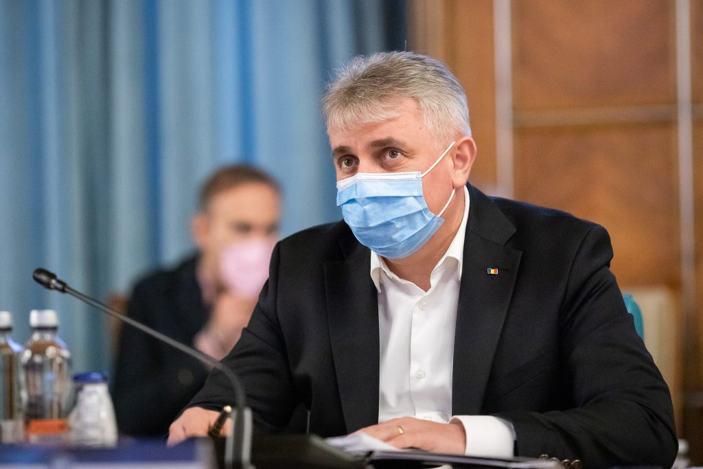Lucian Bode în ședința de Guvern. Foto: gov.ro