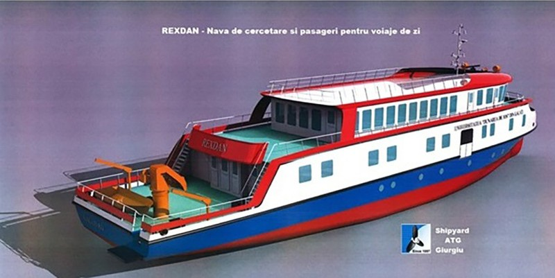 nava de cercetare rexdan
